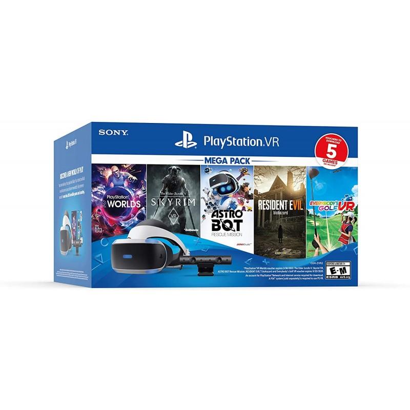 플레이 스테이션 VR 번들 5 게임 팩, 1, 단일옵션