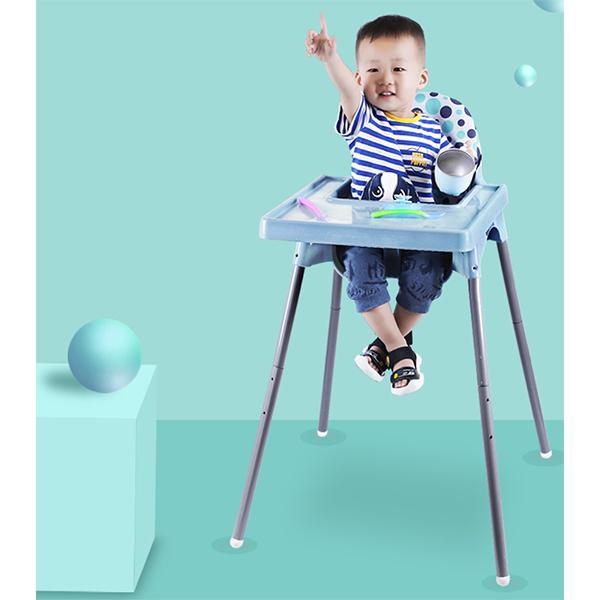 MOLY 유아동 높이 조절가능 식탁의자 아기의자 J1514 유아식탁의자, 41*90cm