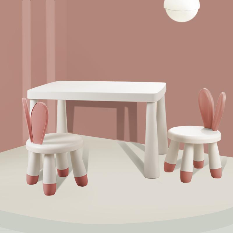 칠나무 어린이 유아 책상 의자 세트 다용도 공부상 XH 3, 레드B
