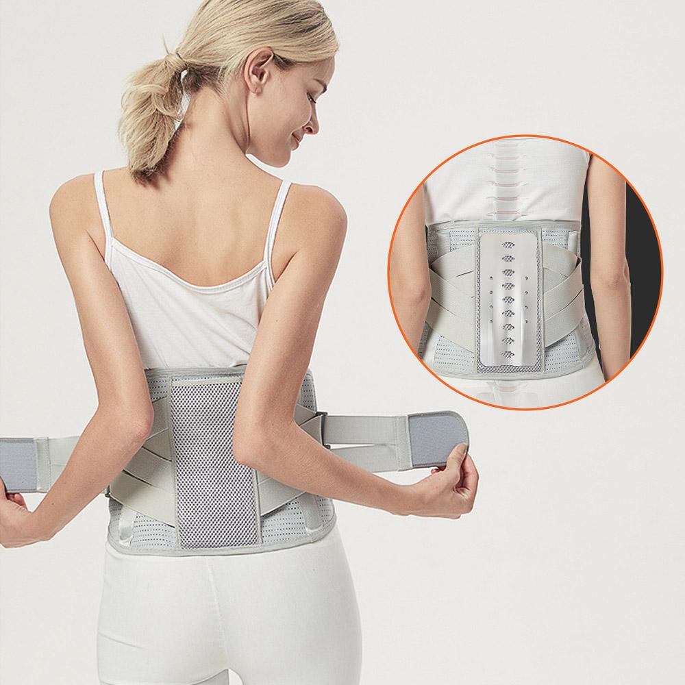 프리미엄 허리보호대 스포츠 허리 복대 보조기 복부 보조대 밴드 벨트 size-XL, 1개