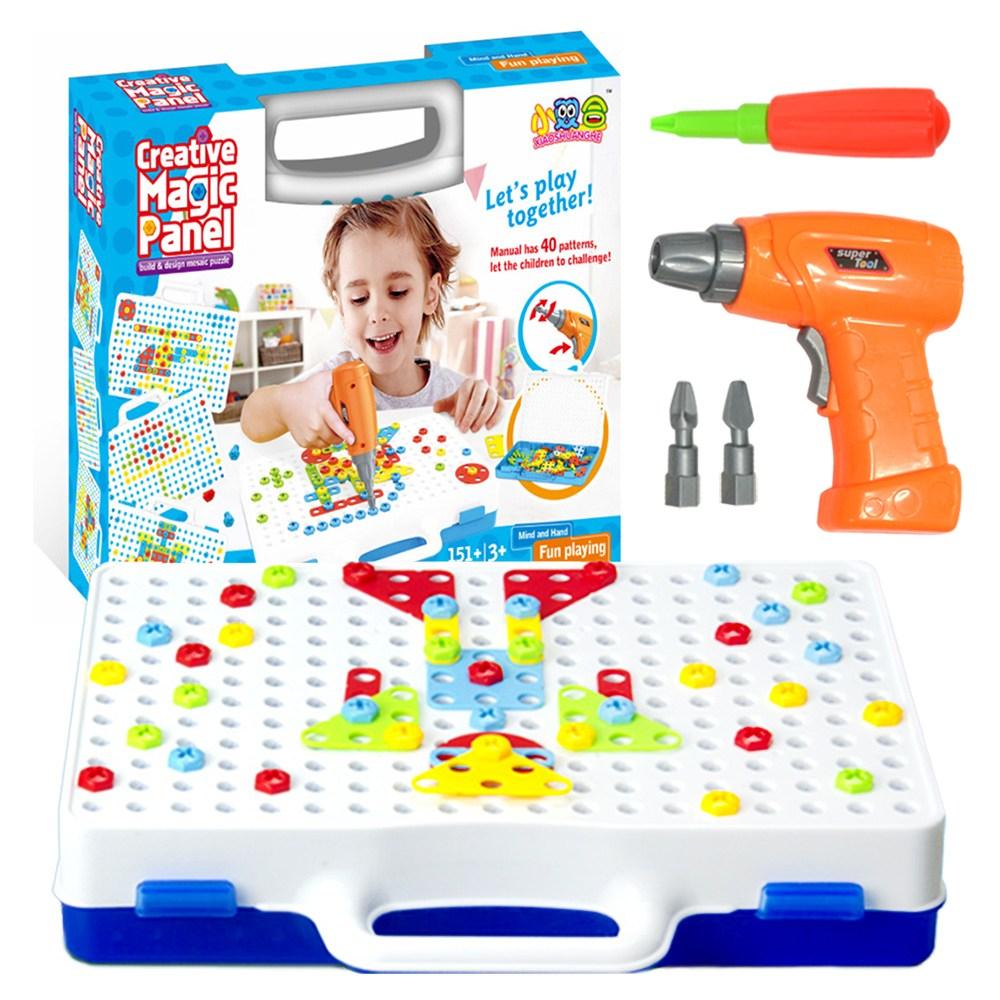 브로키 2D 드릴장난감 공구놀이 전동드릴장난감 어린이장난감