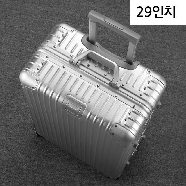 NOLL 알루미늄 여행용 캐리어 풀 메탈 기내용 수화물용 20인치 24인치 29인치