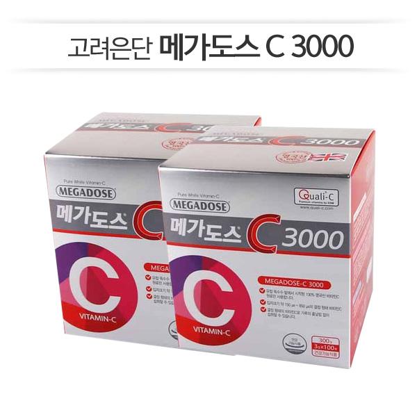 고려은단 메가도스C 3000, 3g, 200포