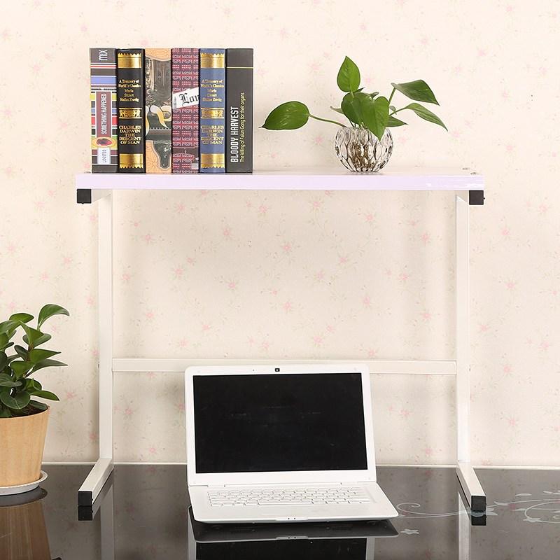 책상 모니터 디스플레이 선반 거치대 노트북 프린터 랙, 70x26.5x55 화이트