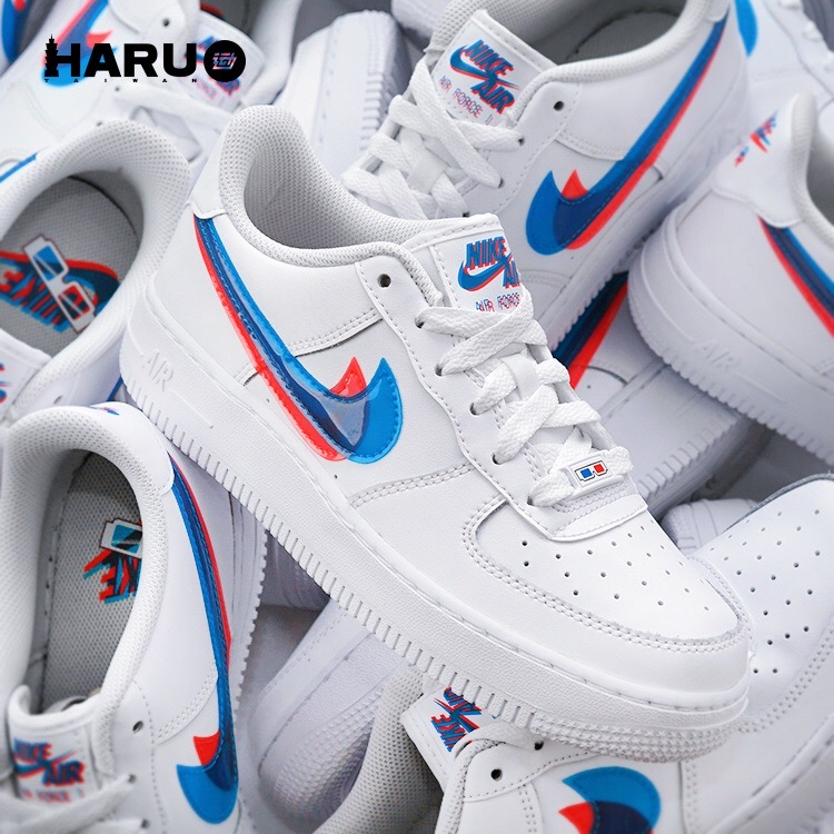 Nike Air Force 1 Low3D White BV2551-100 커플운동화 나이키 에어 포스