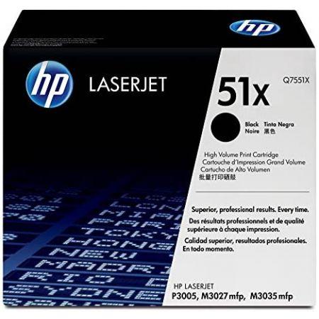HP 51X Q7551X Toner Cartridge Black High Yield PROD310004395, 본문참고, 본문참고