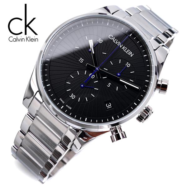 [스위스메이드] 캘빈클라인 K8S27141 크로노그래프 남성용 명품 시계