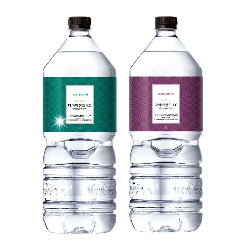 휘오 다이아몬드EC 2L X 9개/물/생수/심층 암반수, 단품