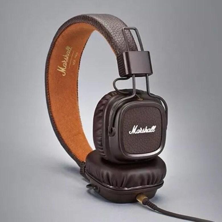 마샬 메이저2 메이저3 무선 유선 선택 블루투스 헤드폰 Marshall Major3, 2 세대 브라운 플러그인 모델