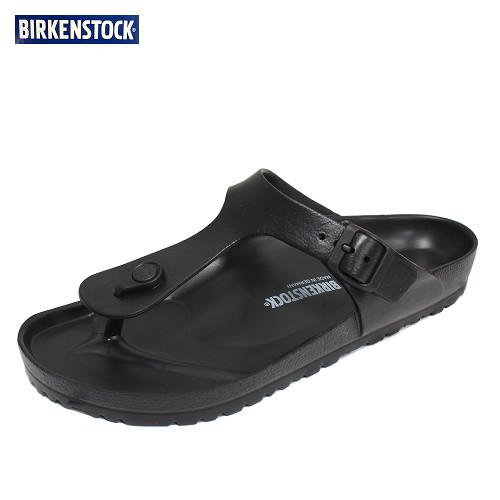버켄스탁 에바 지제 에센셜 블랙 보통발볼(레귤러) 남자 슬리퍼 신발 128201 (POP 1543239741)