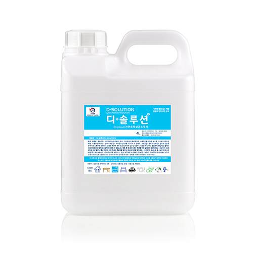 디솔루션 살균소독제, 통, 4L (POP 1767857706)