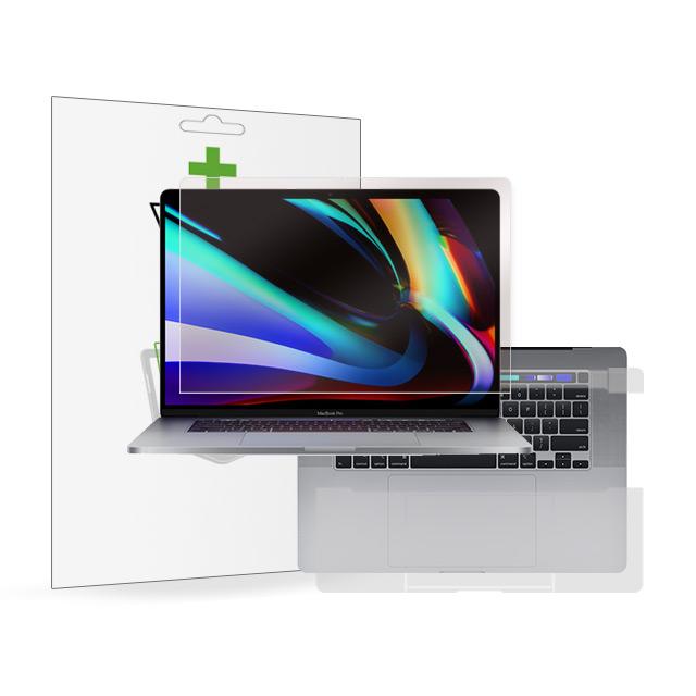 뷰에스피 2020 맥북 프로 16인치 항균 액정+터치패드 외부 보호필름 각1매, 1개