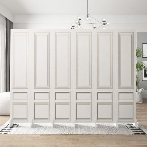 원룸공간분리 인테리어가벽 경량칸막이 원룸가벽, 5파티션 1.8M 2M