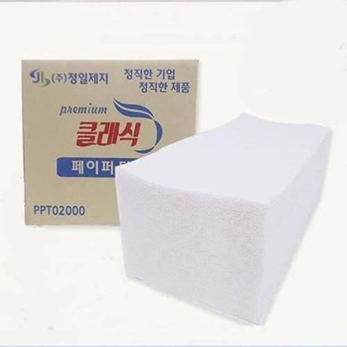 정일제지 핸드타올 2겹 2000매 4000매 5000매, 1box (POP 1210759275)