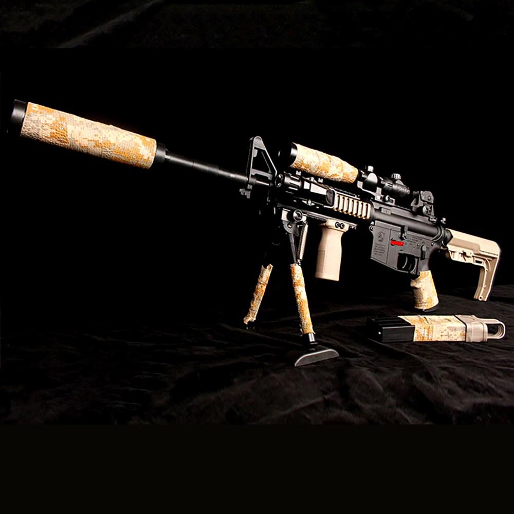 M4A1 고스트워리어 M416 수정탄 젤리탄 총 HK416