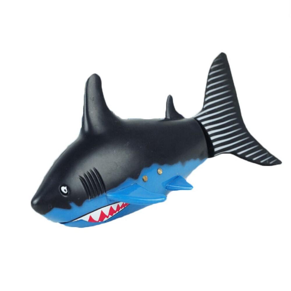 others 원 격 조종 수중 잠수함 모형 소년 충전 장난감 미니 리모콘 핵잠수함 물놀이 리튬 전기 MSY 검은색 파란색 3 통 수영 물고기 표기
