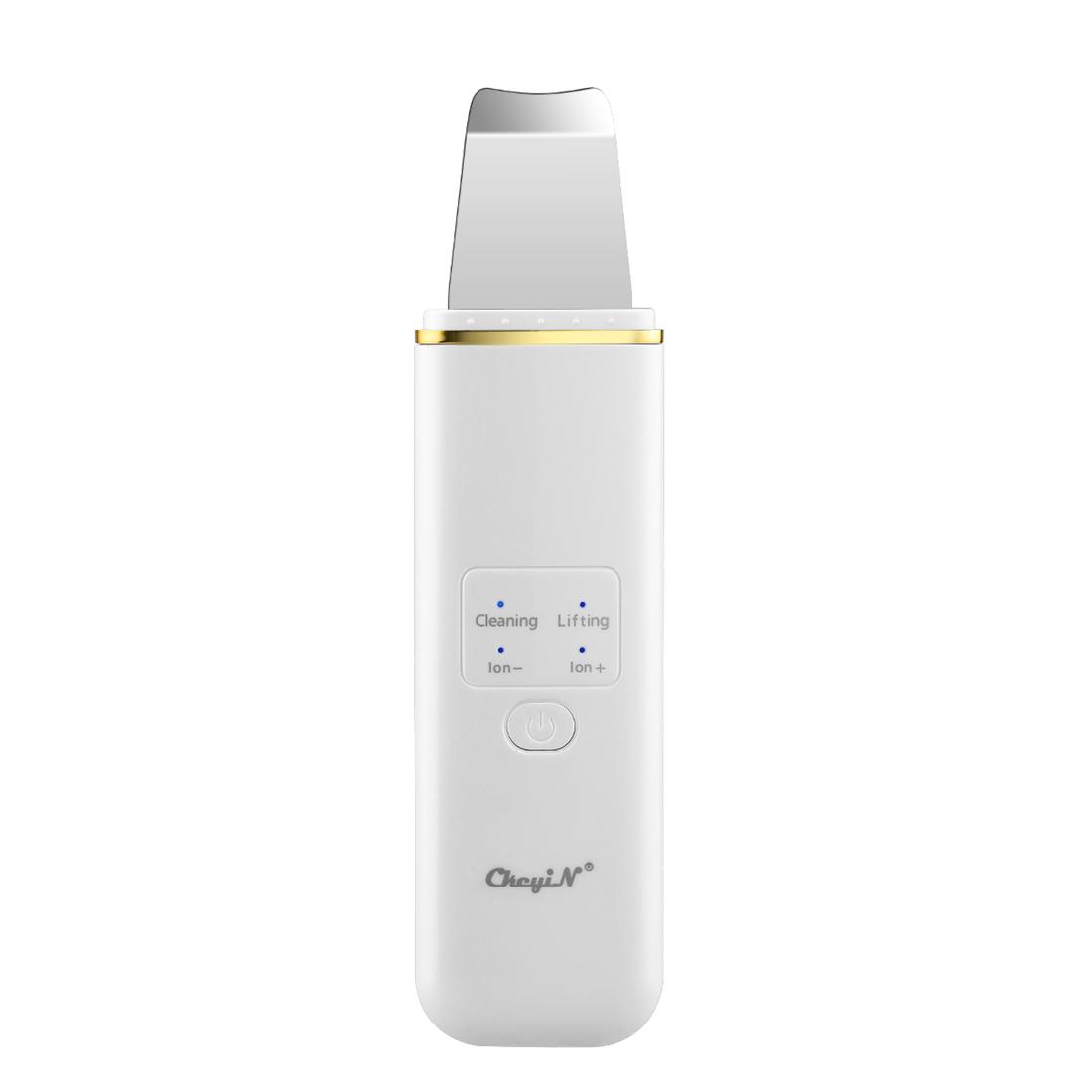 CkeyiN 초음파 필링기 얼굴 필링기 갈바닉 필링기 워터 필링기 EMS 미세 전류 USB