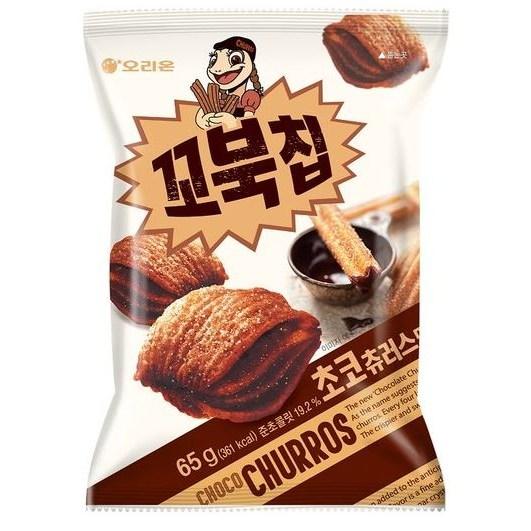 (오리온) 꼬북칩 초코 츄러스 65g X 10개 무료배송 (한정판매), 20개