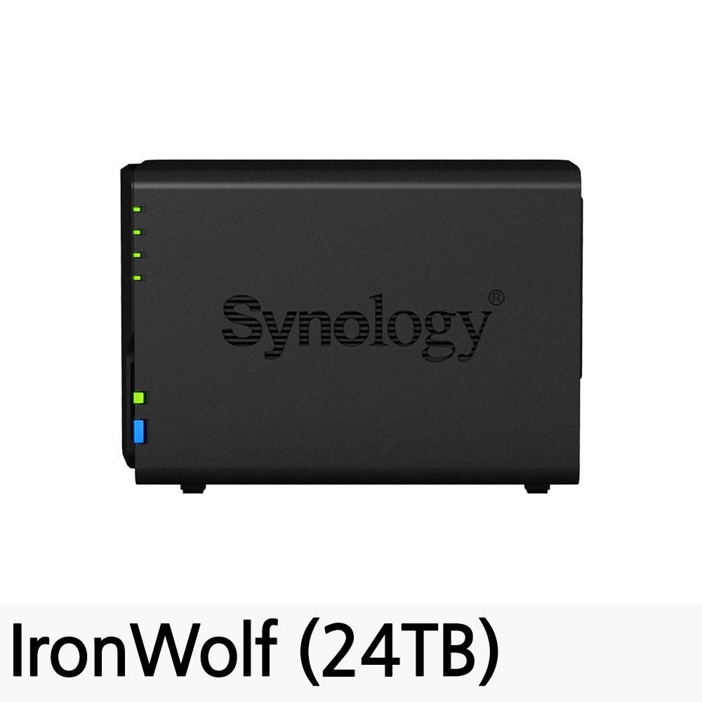 시놀로지 DiskStation NAS DS218, DS218 (24TB)