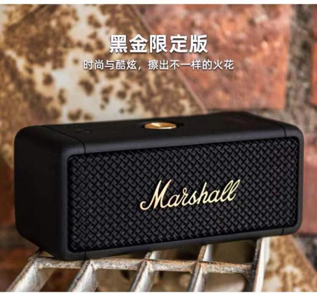 마샬 스톡웰1 블루투스 스피커 블랙 Marshall, EMBERTON 블랙골드