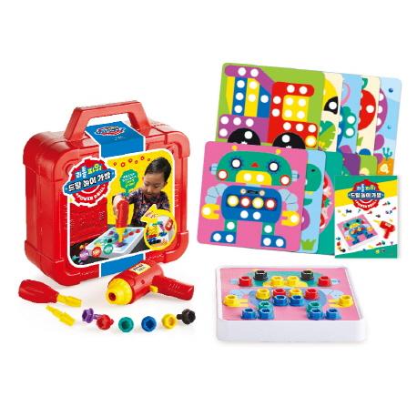 리틀 파워 드릴 놀이 가방:협응력 집중력 창의력, 애플비북스