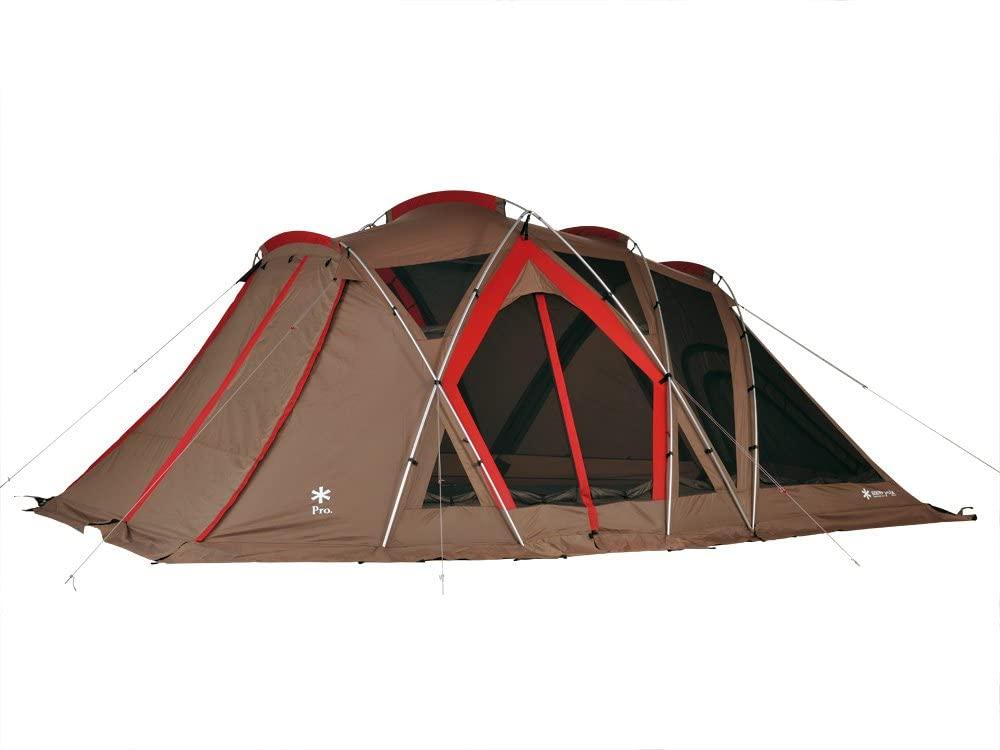 9.예상수령일 2-6일 이내 스노우 피크 (snow peak) 텐트 리빙 쉘 [4 명 6 인용] B00IADMFG6 일본아마존추, 상세 설명 참조0, 브라운 롱 Pro 6 인용
