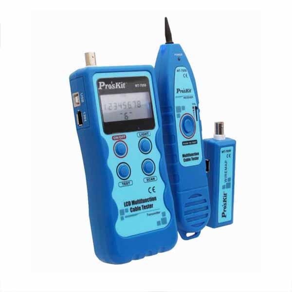 LCD 기 거리측정기 테스터 케이블 디지털기 온도측정기 다기능 통신용품 네트워크장비, 로드 본상품선택