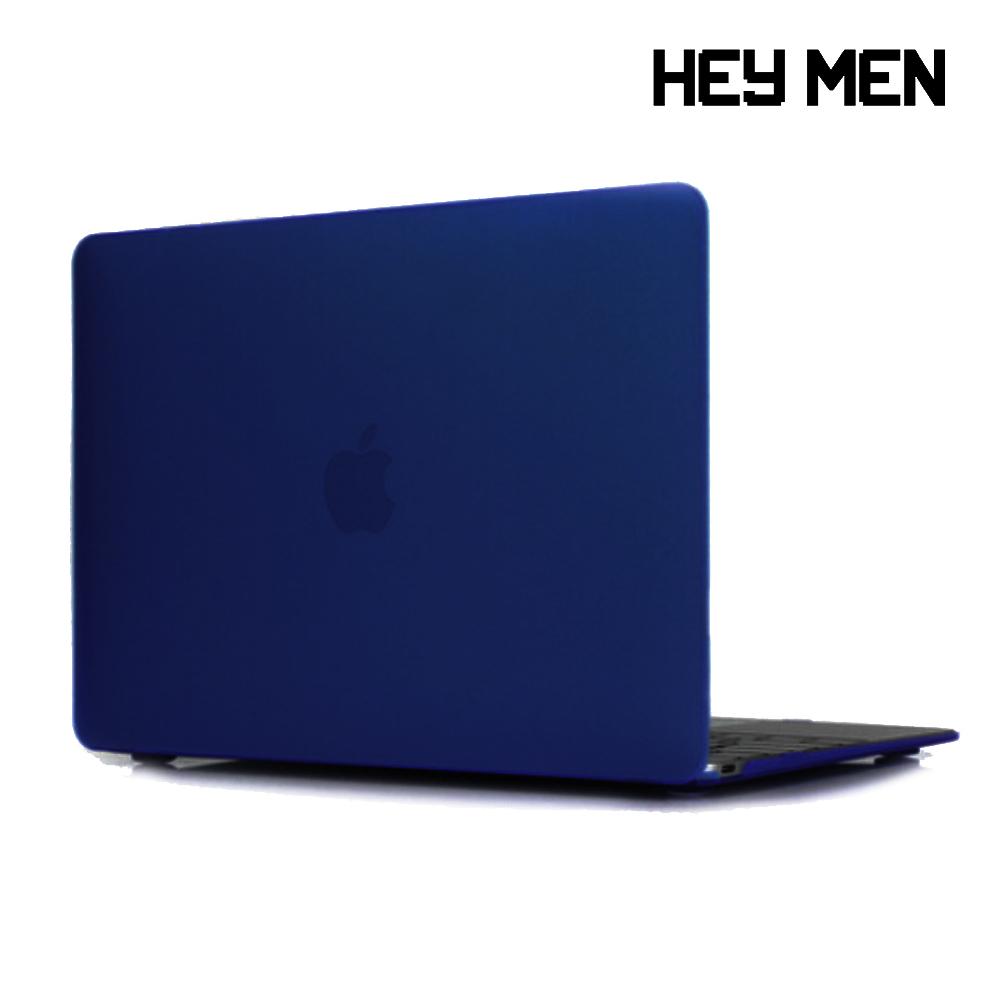 헤이맨 맥북프로 2020 13인치 투명 하드 케이스 A2251 A2289, 네이비