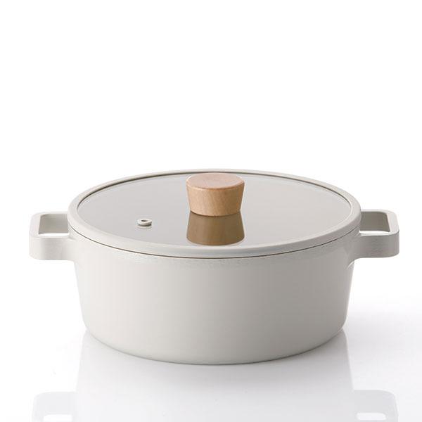 네오플램 피카 IH 인덕션 냄비 22cm 양수냄비