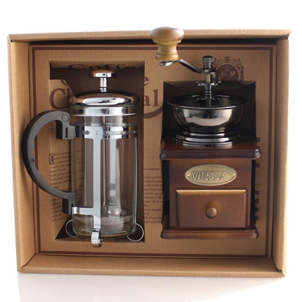 핸드밀 원두 커피 머신 그라인더 분쇄기