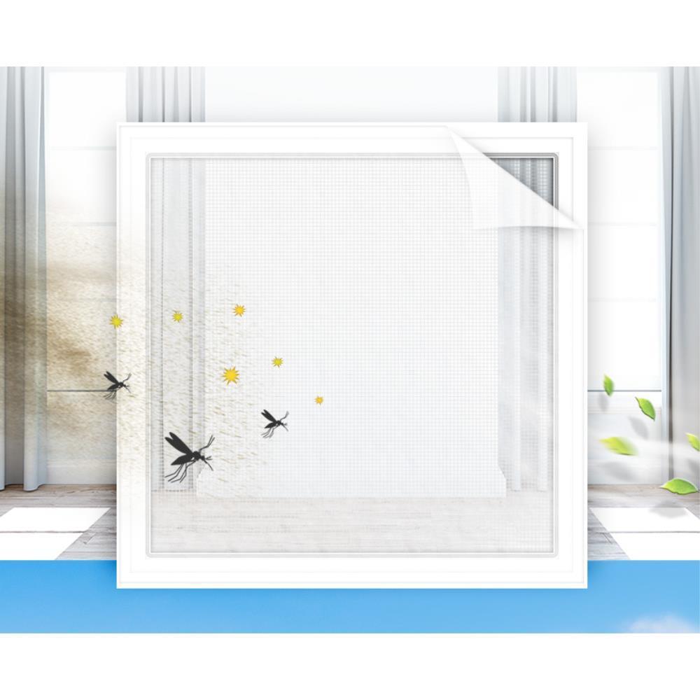 1.5M 미세먼지 방진망 마노창문필터 자연환기필터 시즌 모기망 생활소품 초미세먼지 환기필터 창문틈새박이, 1개