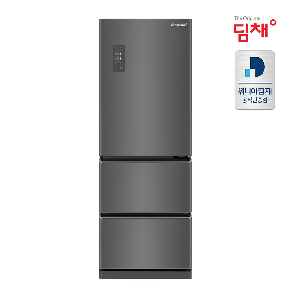 딤채 20년형 스탠드 김치냉장고 EDT33DFRZKT (330리터 3도어) 스탠드형