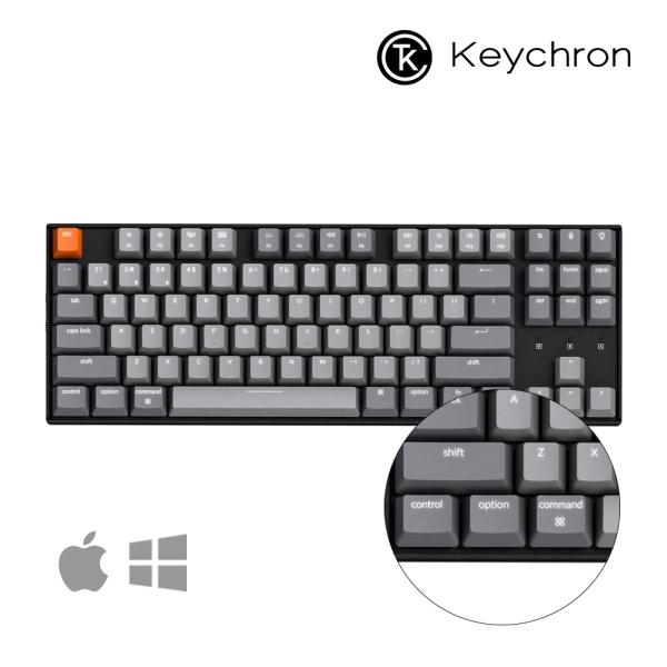 키크론 K8 RGB LED 유무선 텐키리스기계식키보드 갈축, 옵션없음, 옵션없음
