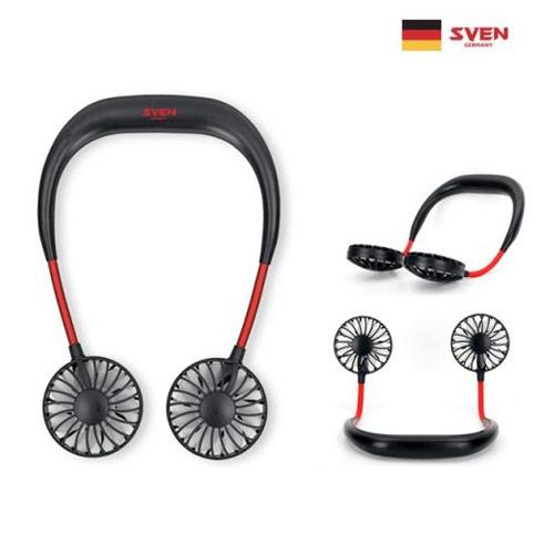 스벤 독일 프리미엄 넥밴드 휴대용 선풍기 강력한 저소음 모터탑재 (POP 1781378423)