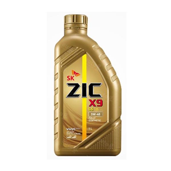 ZIC X9 LS 5W40 1L 디젤 엔진오일, 1개, 지크 X9 LS 5W40_1L