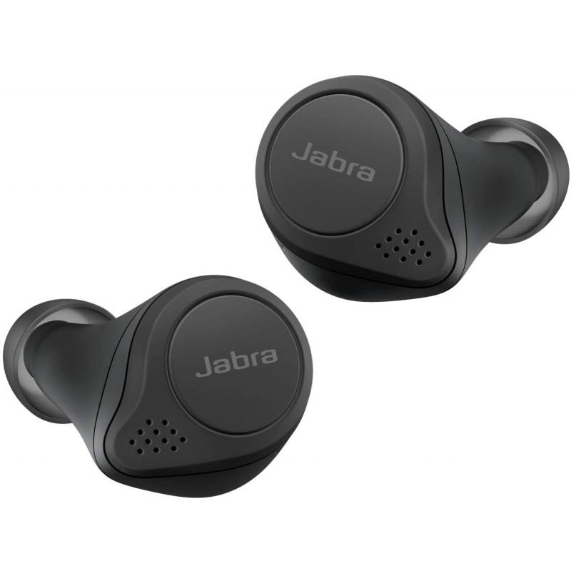 【Amazon.co.jp 한정】 Jabra 전체 무선 이어폰 Elite 75t 블랙 Alexa 지원 bluetooth 5.0 노이즈 캔슬링, 단일상품, 단일상품