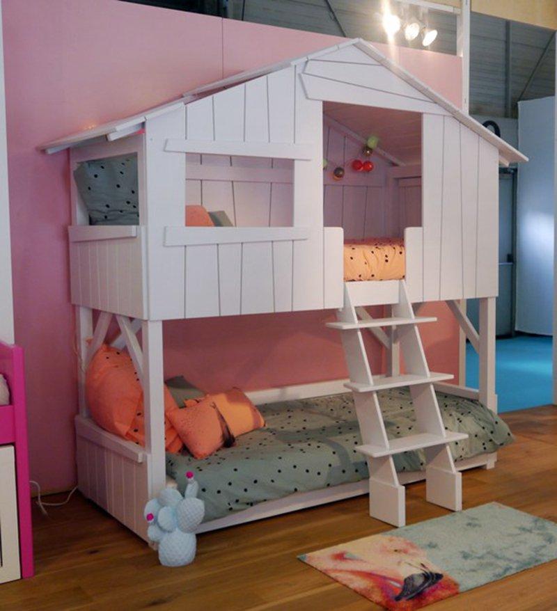 벙커침대 성인 어린이 이케아 미국 단단한 나무 어린이 높고 낮은 침대 이층 침대 작은 아파트 트리 하우스 침대 로프트 침대 높은 침대 가구 사용자 정의, 1200mm*2000mm, 초기 단계 사용자 지정, 더 많은 조합
