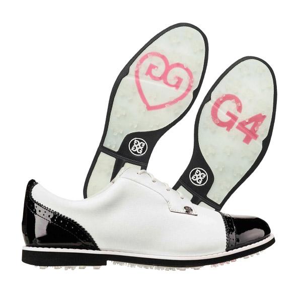 g4골프화 - 지포어 캡 토 갤리베이터 여성용 골프화 화이트블랙