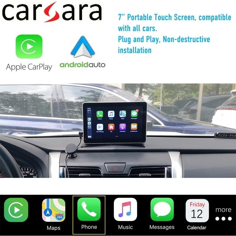 자동차 내비게이션 네비게이션 GPS 7 모든 용 bt5 0 멀티미디어 시스템이 포함된 범용 무선 CarPlay 터치스크린 유선 Androidauto 디스플레이, 카플레이 화면
