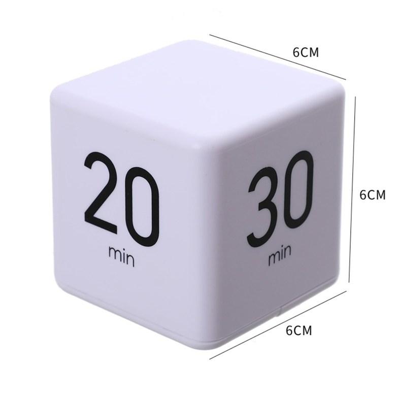 자동 큐브 타이머 중력센서, 장시간 (15/20/30/60)