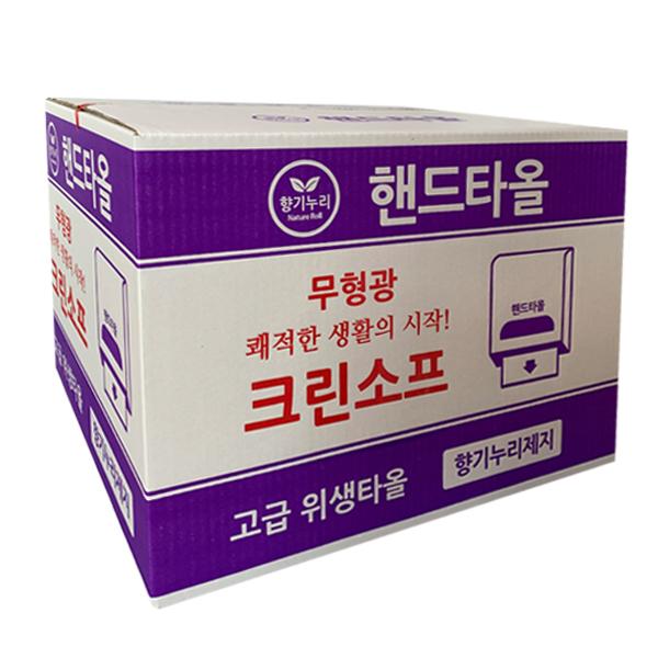 크린소프 핸드타올(5000매), 5000매, 1box (POP 15403120)