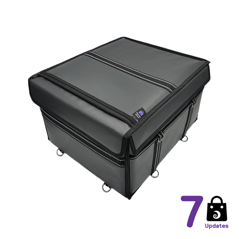 카멜레온 바스켓 7Up 몬스터 바스켓_배달가방_다용도멀티백_방수 + 오토바이 배달가방 배달통