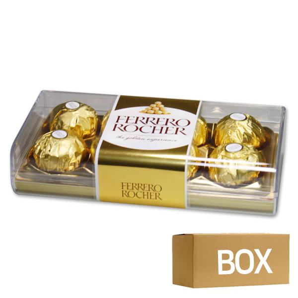 페레로로쉐(사각) T8(100g) 6개 1박스 식품 > 스낵/간식 초콜릿/사탕/젤리/껌 초콜릿/캔디 선물 세트, 6, 100g