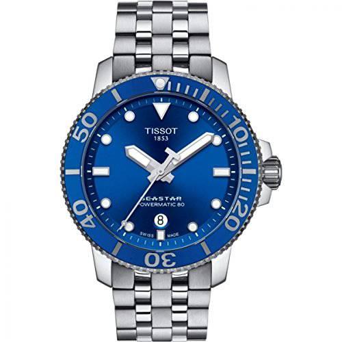 Tissot Seastar 1000 자동식 블루 다이얼 남자 시계 T120.407.11.041.00 Tis