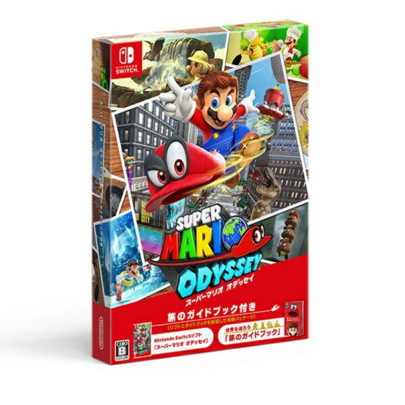 닌텐도 Nintendo슈퍼 마리오 오디세이 여행 가이드 북 부 [닌텐도 스위치 소프트][Switch], 단일상품
