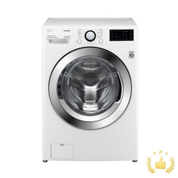LG전자 드럼세탁기 F18WDAP [18KG/화이트], 단품
