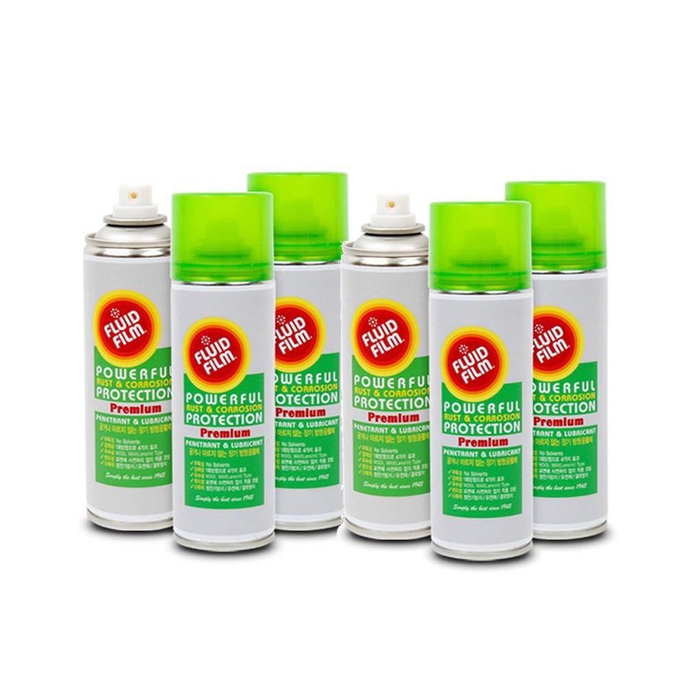 플루이드필름 6종 녹제거 윤활제 녹방지 방수코팅