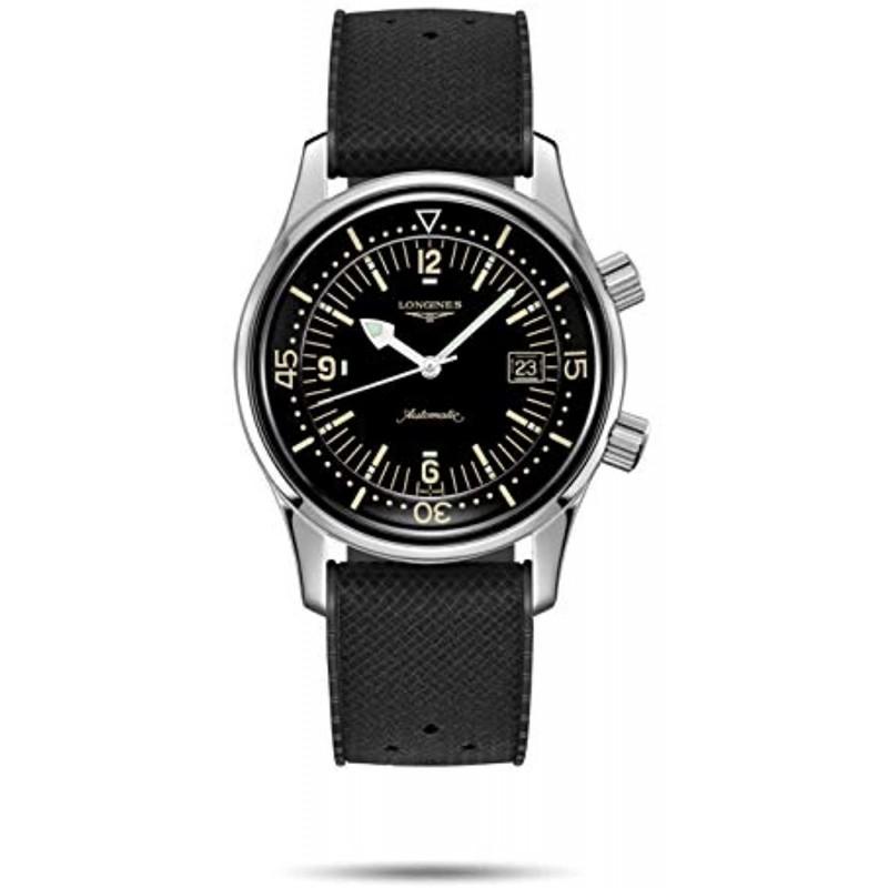 [론진 남성시계] 정품 LONGINES론 진 L3.774.4.50.9헤리티지 레전드 다이버 손목 시계