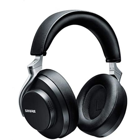 Shure AONIC 50 Wireless Noise Cancelling Headphones Premium Studio-Quality Sound Bluetooth 5 Wire, White_One Size, 상세 설명 참조2, White