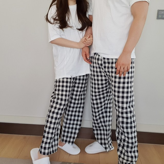 라라콩 [커플잠옷] 체크숙면바지 VER2 (5color)
